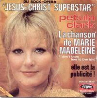 Cover Petula Clark - La chanson de Marie-Madeleine