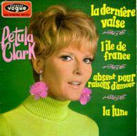 Cover Petula Clark - La dernière valse