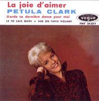 Cover Petula Clark - La joie d'aimer