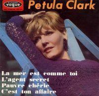 Cover Petula Clark - La mer est comme toi