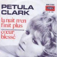 Cover Petula Clark - La nuit n'en finit plus