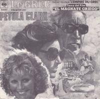 Cover Petula Clark - Le Grec