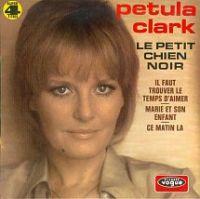 Cover Petula Clark - Le petit chien noir