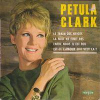 Cover Petula Clark - Le train des neiges