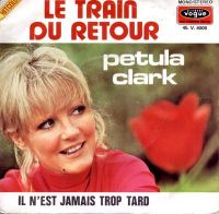 Cover Petula Clark - Le train du retour