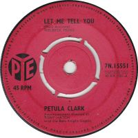 Cover Petula Clark - Let Me Tell You