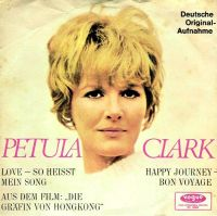 Cover Petula Clark - Love - so heisst mein Song