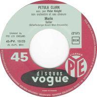 Cover Petula Clark - Marin