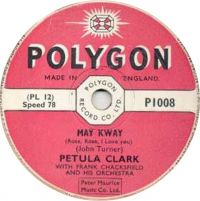 Cover Petula Clark - May Kway (Rose, Rose, I Love You)