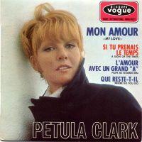 Cover Petula Clark - Mon amour