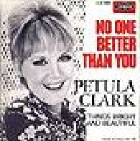 Cover Petula Clark - No One Better Than You