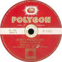 Cover Petula Clark - Poppa Piccolino