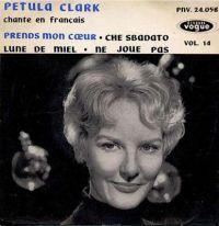 Cover Petula Clark - Prends mon cœur