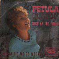 Cover Petula Clark - Sign Of The Times