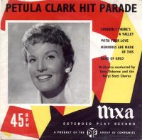 Cover Petula Clark - Suddenly There's A Valley