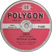 Cover Petula Clark - Teasin'