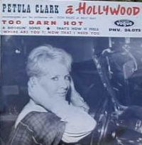 Cover Petula Clark - Too Darn Hot