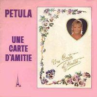 Cover Petula Clark - Une carte d'amitié