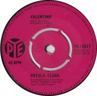 Cover Petula Clark - Valentino