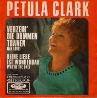 Cover Petula Clark - Verzeih' die dummen Tränen