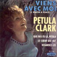 Cover Petula Clark - Viens avec moi