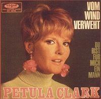 Cover Petula Clark - Vom Wind verweht