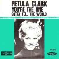 Cover Petula Clark - You're The One