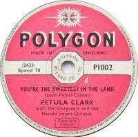 Cover Petula Clark - You're The Sweetest In The Land