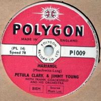 Cover Petula Clark & Jimmy Young - Mariandl