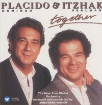 Cover Placido Domingo & Itzhak Perlman - Together