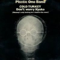 Cover Plastic Ono Band - Cold Turkey