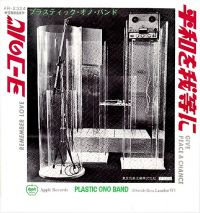 Cover Plastic Ono Band - Give Peace A Chance
