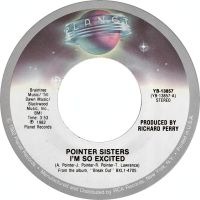 Cover Pointer Sisters - I'm So Excited