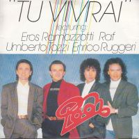 Cover Pooh & Ramazzotti & RAF & Ruggeri & Tozzi - Tu vivrai