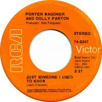 Cover Porter Wagoner and Dolly Parton - Just Someone I Used To Know