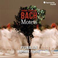 Cover Pygmalion / Raphaël Pichon - Johann Sebastian Bach: Motets