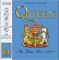 Cover Queen - The Game Tour 1981