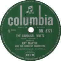 Cover Ray Martin - The Carousel Waltz
