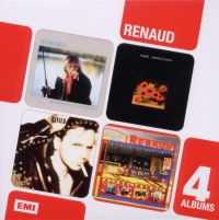 Cover Renaud - 4 albums