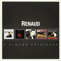 Cover Renaud - 5 albums originaux
