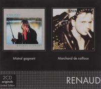 Cover Renaud - Mistral gagnant / Marchand de cailloux