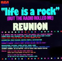 Cover Reunion - Life Is A Rock (But The Radio Rolled Me)