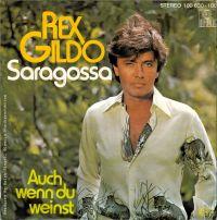 Cover Rex Gildo - Saragossa
