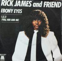 Cover Rick James & Smokey Robinson - Ebony Eyes