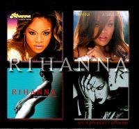 Cover Rihanna - Coffret 4 CD - Ses 4 premiers albums
