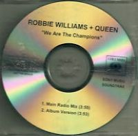 Cover Robbie Williams + Queen - We Are The Champions