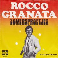 Cover Rocco Granata - Zomersproetjes