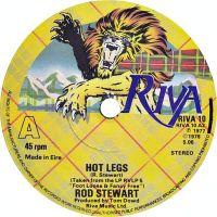 Cover Rod Stewart - Hot Legs
