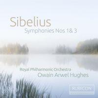 Cover Royal Philharmonic Orchestra / Owain Arwel Hughes - Sibelius: Symphonies Nos 1 & 3