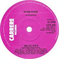 Cover Ryan Paris - Dolce Vita